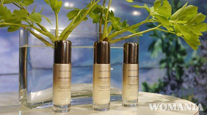 長命草配合!ベアミネラルが肌の健康寿命に着目した肌活美容液を発売